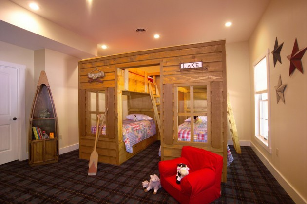 15 Playful Rustic Kids Room Ideas That Your Kids Will