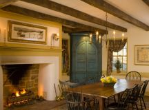 15 Warm & Cozy Rustic Dining Room Designs For Your Cabin