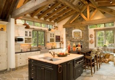 Rustic Kitchens Kitchens Com