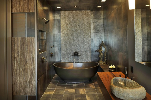 15 ZenInspired Asian Bathroom Designs For Inspiration