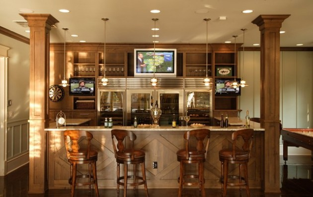bar in living room ideas 2018 with tv 19 fancy home designs for all fans of the modern