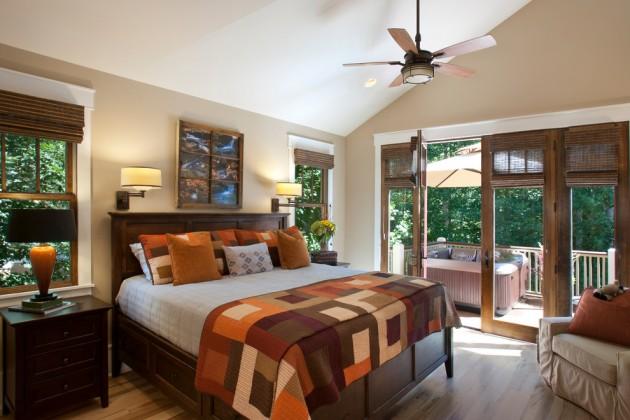 15 Marvelous Craftsman Bedroom Interior Designs For