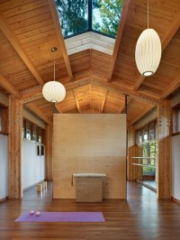 16 Tranquil Yoga Room Designs That Will Motivate You To ...
