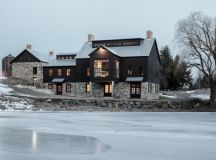 15 Aesthetic Farmhouse Exterior Designs Showing The Luxury ...