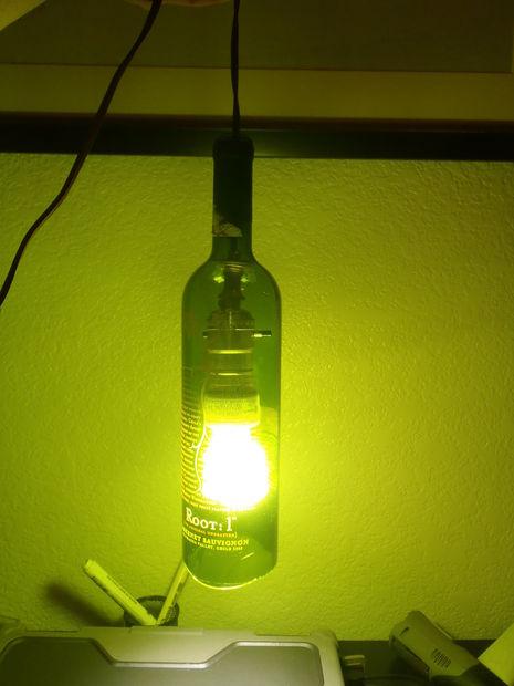 19 Inexpensive  Creative DIY Wine Bottle Lighting Ideas