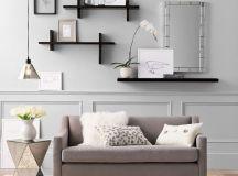 15 Fascinating Modern Living Room Shelves for Any ...