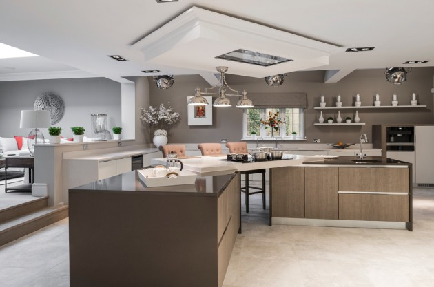 15 Elegant Contemporary Kitchen Designs To Inspire You To
