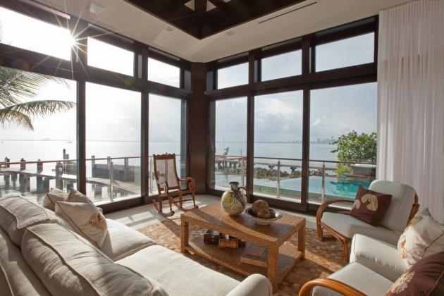 15 Exotic Tropical Living Room Designs To Make You Enjoy