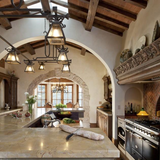 Exquisite Mediterranean Kitchen Interior Designs Elegant