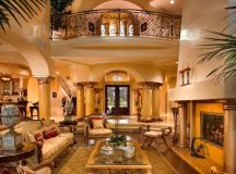 15 Extravagant Mediterranean Living Room Designs That Will ...