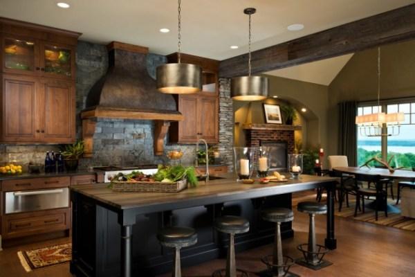 warm kitchen design 15 Warm Rustic Kitchen Designs That Will Make You Enjoy