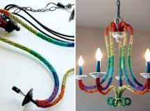 20 Extraordinary & Easy to Make DIY Chandeliers That Will ...