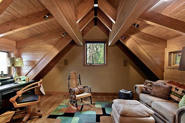 18 Most Beautiful Decorated Attic Designs That Will