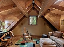 18 Most Beautiful Decorated Attic Designs That Will ...