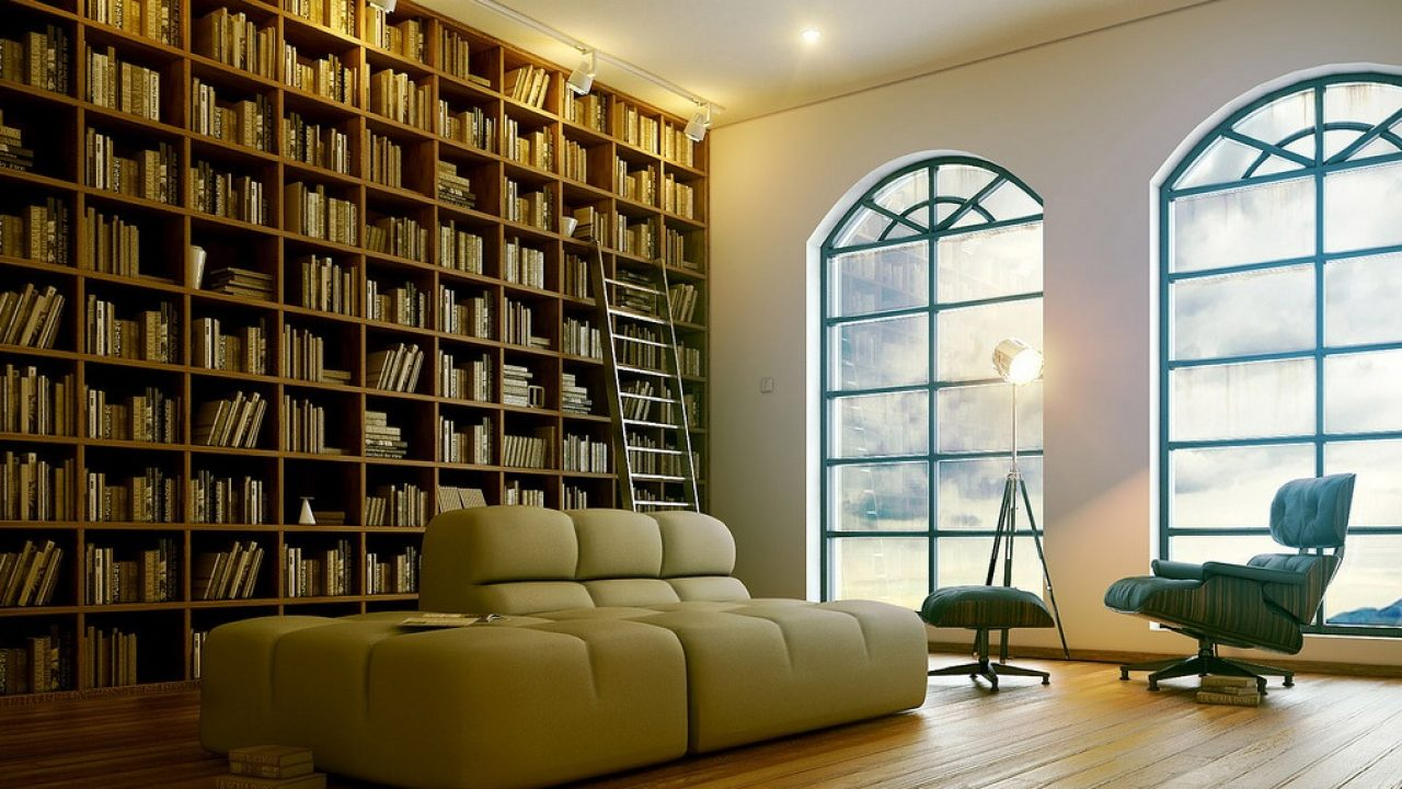 Modern Home Library Interior Design