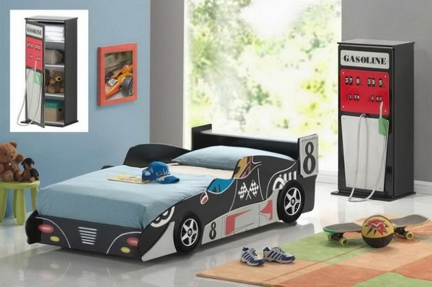 15 Super Cool Car Themed Child S Bedroom Designs