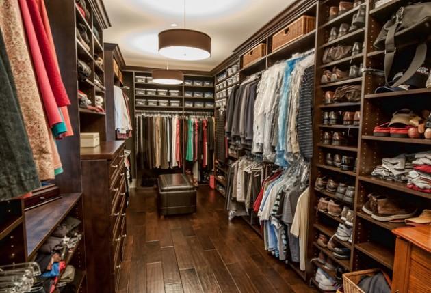 17 Sophisticated Masculine WalkIn Closets For Men With Style