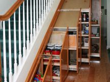 23 Most Functional Under The Stairs Storage Ideas That ...
