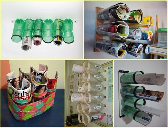 Top 25 Newest  Truly Fascinating DIY Old Bottles Reusing Ideas