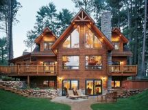 18 Extravagant Log House Designs That Will Leave You ...