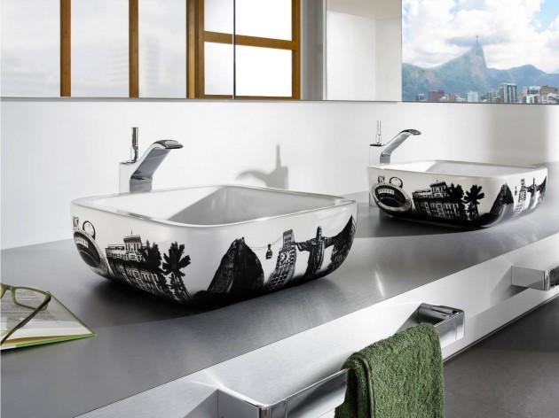 14 creative modern bathroom sink design