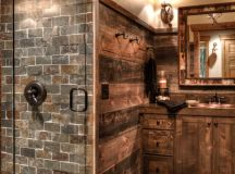 15 Refined Rustic Bathroom Designs For Your Rustic Home