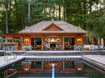 15 Splendid Rustic Swimming Pool Designs That Offer A ...