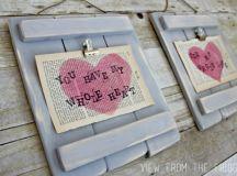 Spectacular DIY Pallet Art: 19 Brilliant Valentine's Day ...