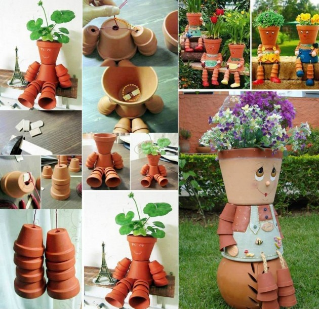 Top 21 Most Genius & Cheap DIY Garden Pots Ideas To Spruce Up Your Garden