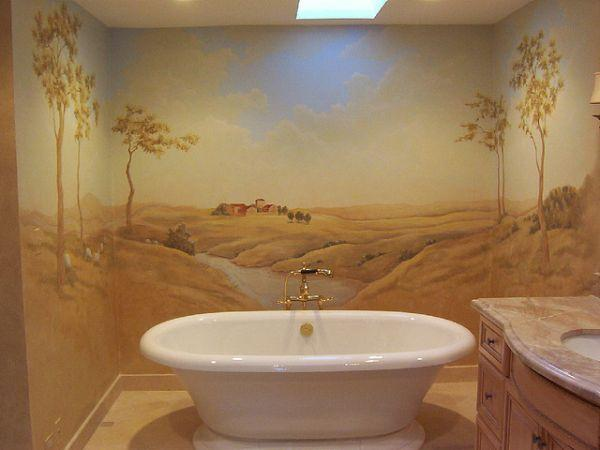 French Fall Wallpaper 14 Beautiful Wall Murals Design For Your Dream Bathroom