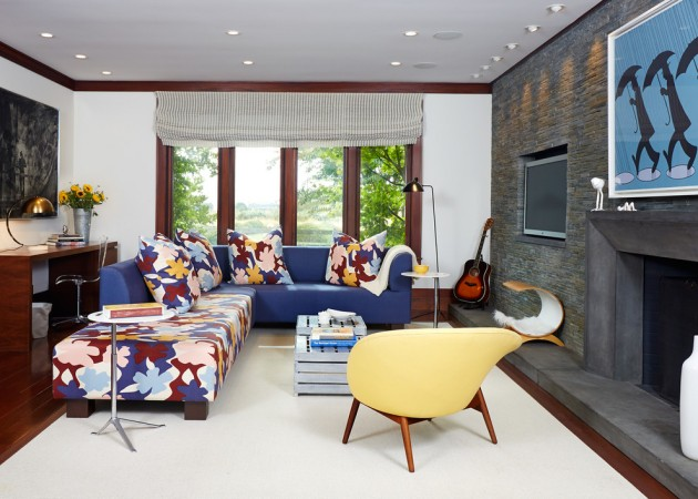 15 Dreamy MidCentury Modern Family Room Designs Youll