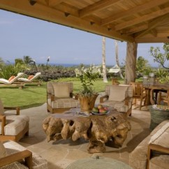 Swing Chair Benefits Deck Chairs Target 15 Striking Tropical Patio Designs That Make The View Even More Enjoyable