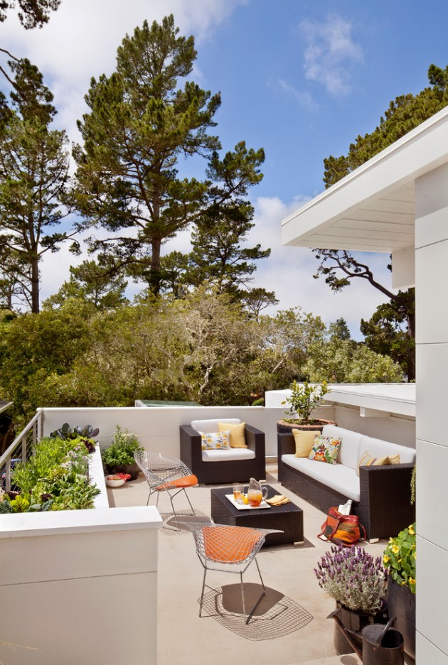 16 Exceptional MidCentury Modern Patio Designs For Your