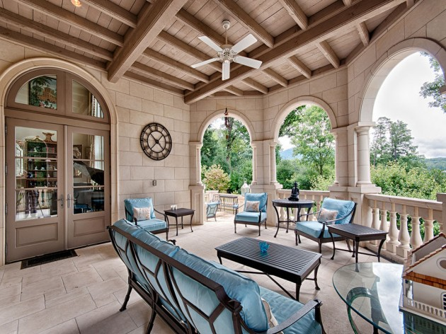 17 Outstanding Mediterranean Porch Designs With A Nice View