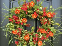17 Refreshing Handmade Spring Wreath Ideas You Could ...