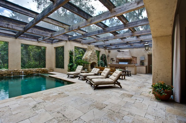 18 Extraordinary Luxurious Mediterranean Patio Designs You