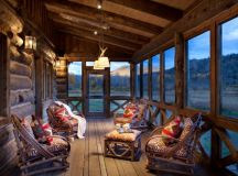 18 Spectacular Rustic Porch Designs Every Rustic House ...