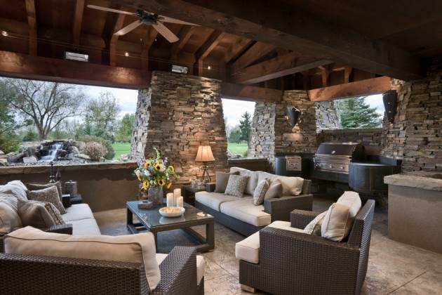 18 Startling Rustic Patio Designs To Enjoy The Nature Even Better