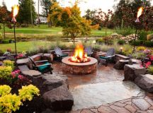 18 Startling Rustic Patio Designs To Enjoy The Nature Even ...