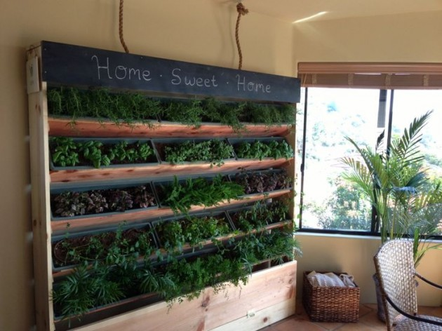 21 The Most Easiest DIY Vertical Garden Ideas With A Big Statement