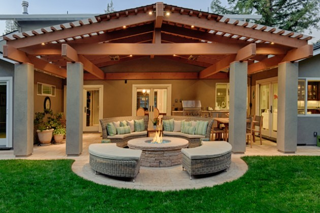 18 majestic covered patio design ideas