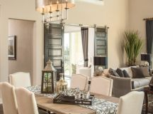 15 Terrific Transitional Dining Room Designs That Will Fit ...