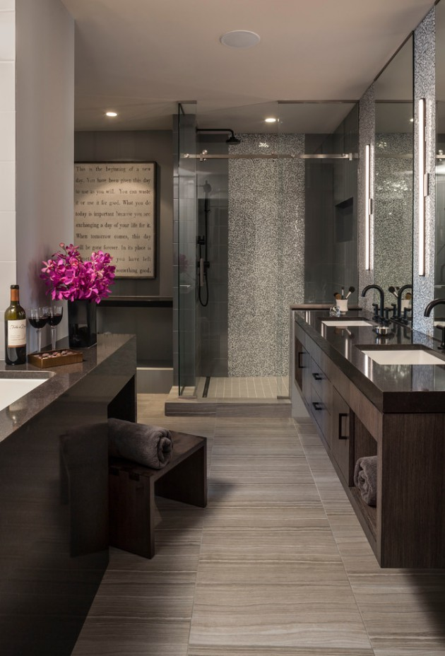 16 Tremendous Contemporary Bathroom Interior Designs To
