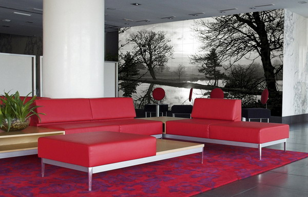 wall mural ideas for living room antique furniture 15 refreshing your