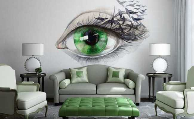 15 Refreshing Wall Mural Ideas For Your Living Room