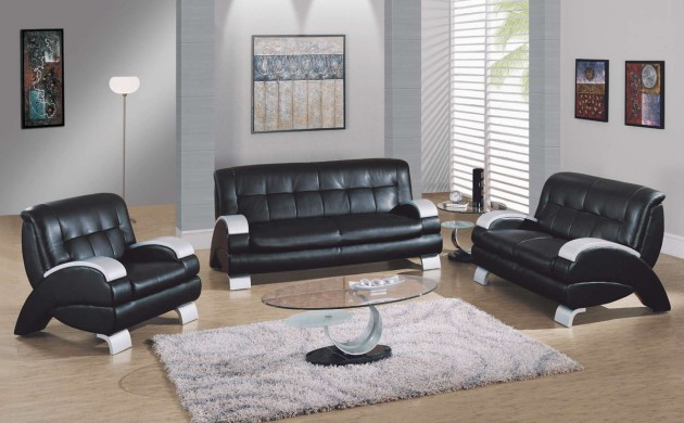 leather sofa set for living room loft ideas 15 classy designs