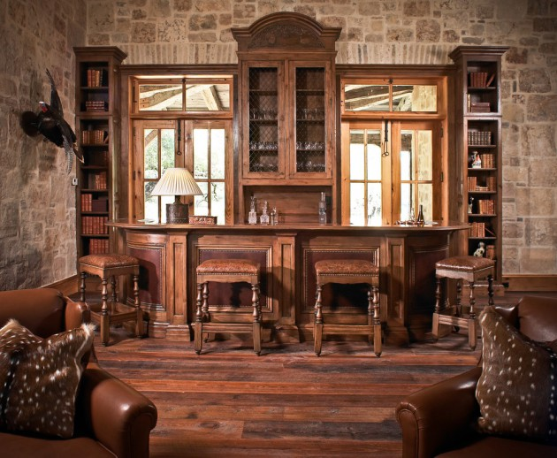 chair bar stool small apartment table and chairs 16 awe-inspiring rustic home bars for an unforgettable party