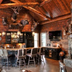 Stool Chair For Kitchen Counter Target Leather Chairs 16 Awe-inspiring Rustic Home Bars An Unforgettable Party