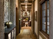 16 Great Rustic Hallway Designs That Will Give You Amazing ...