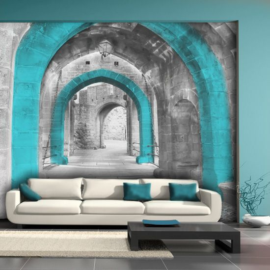 wall mural ideas for living room layout with corner fireplace 15 refreshing your